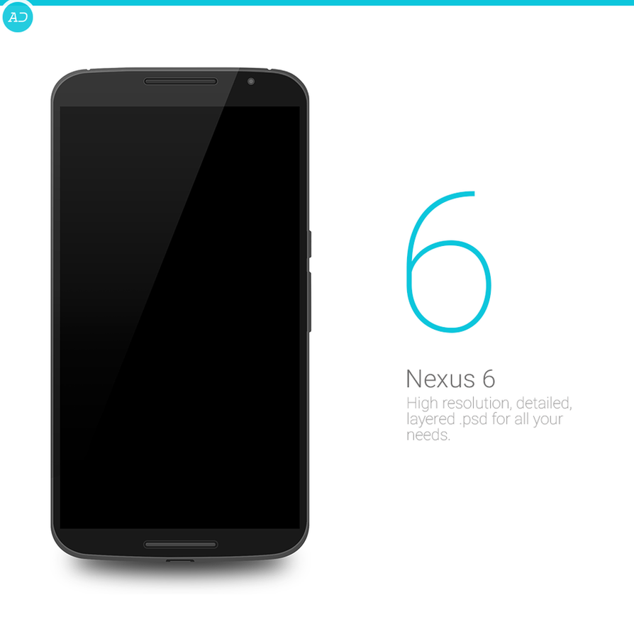 Nexus 6 : PSD by danishprakash