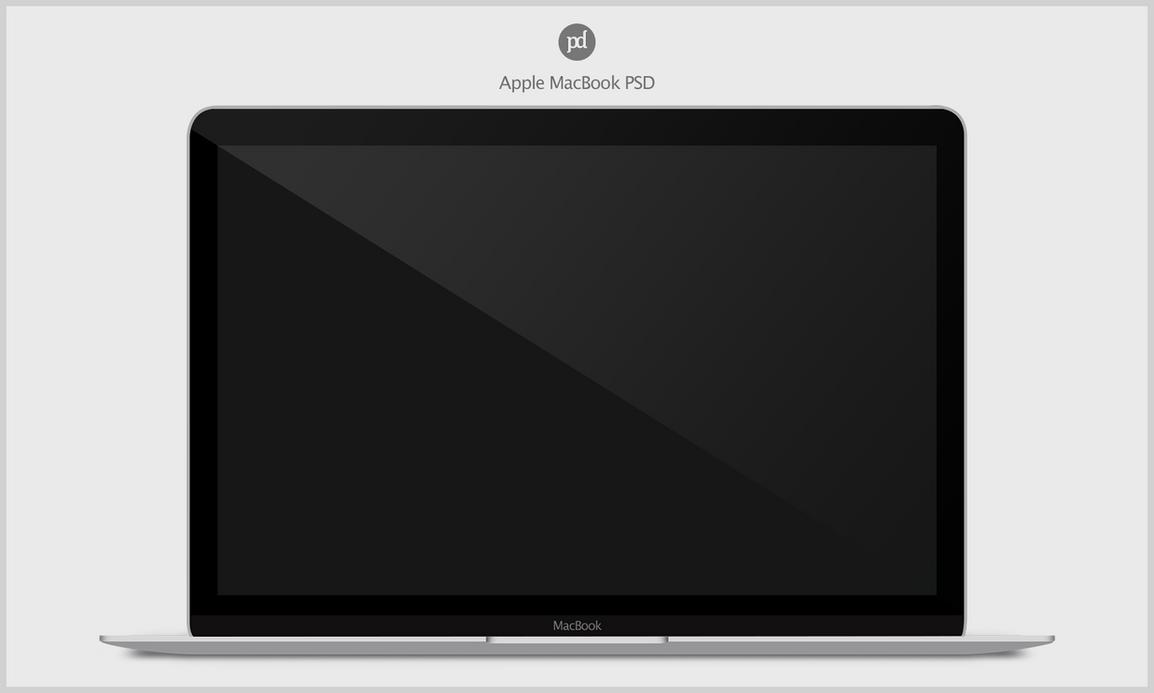 MacBook 2015 PSD by danishprakash