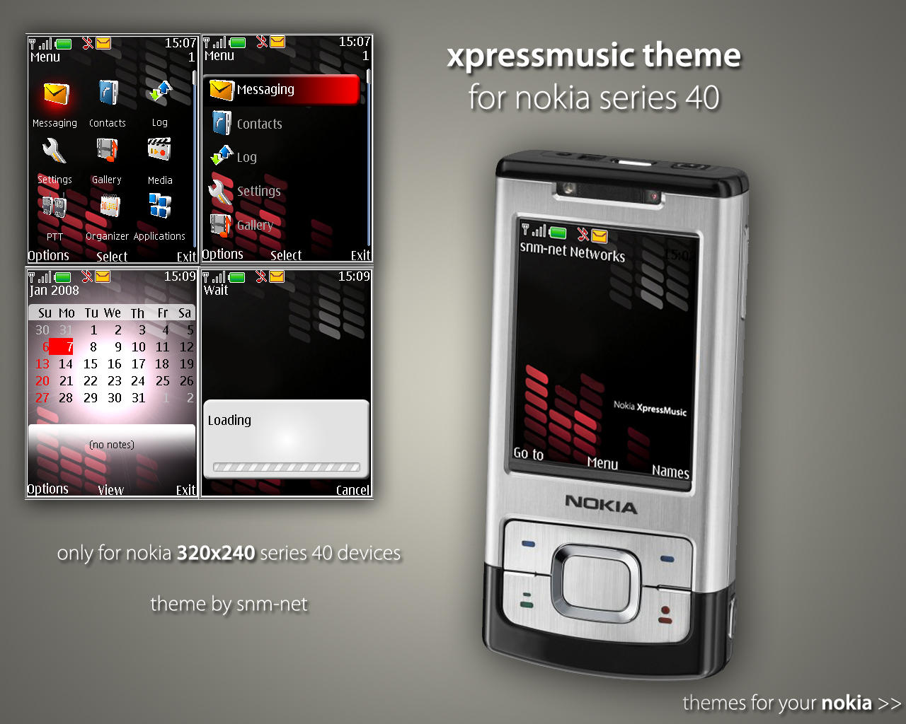 theme nokia xpress music 5130c-2
