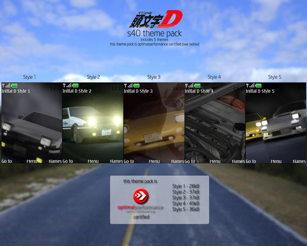 initial d theme pack by snm net on deviantart
