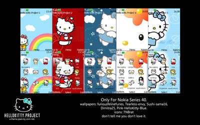 Hello Kitty Project Theme Pack