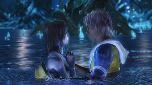 Final Fantasy X - Tidus and Yuna Cinemagraph