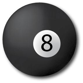 8-ball by Diskill-Stock