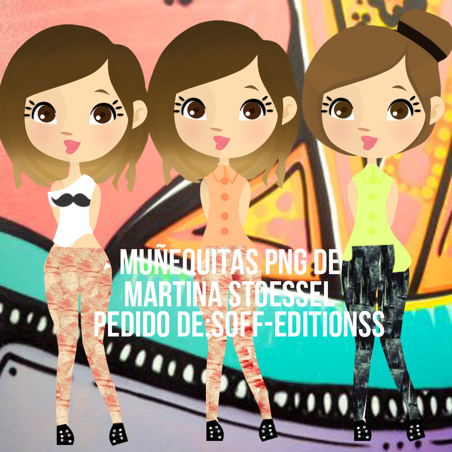 Munequitas de Martina Stoessel Pedido by CarluEditionsSG