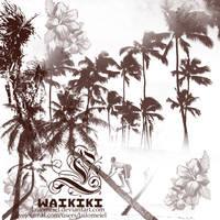 Waikiki Brushes by lailomeiel