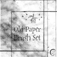 Old Paper Brushes by lailomeiel