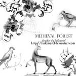 Medieval Forest Brushes