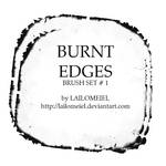 Burnt Edges Brushes