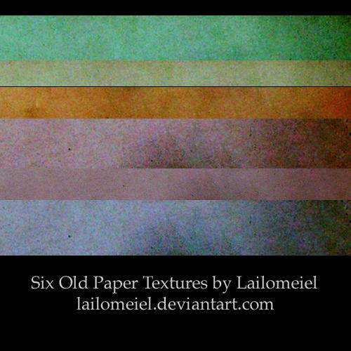 Old Paper Textures I by lailomeiel