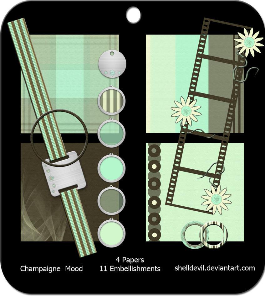 Champaign Mood - Mini Kit by shelldevil