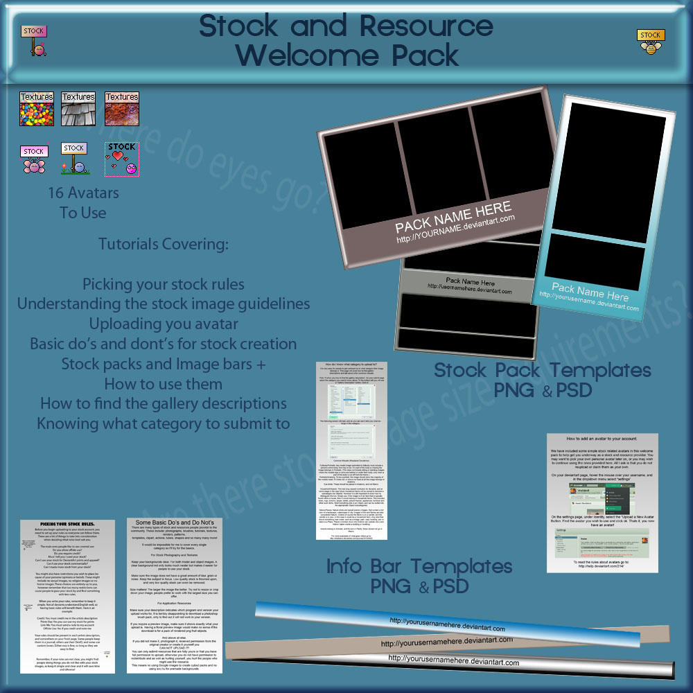 Welcome to Resources Pack by shelldevil