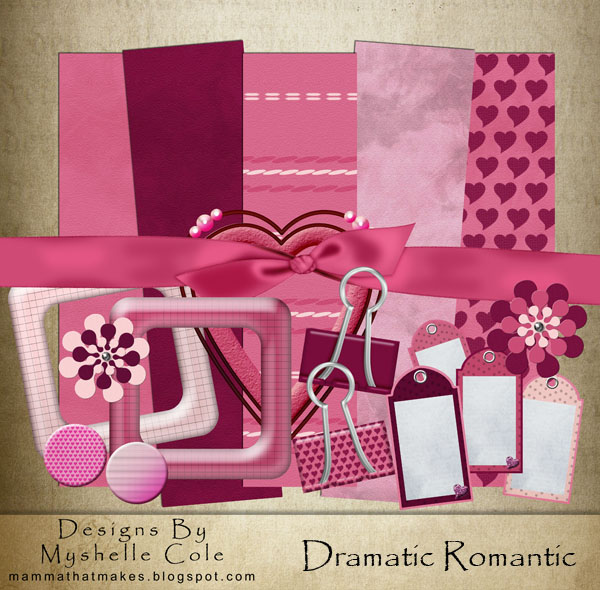 Scrapbooking - Dramatic Romant by shelldevil
