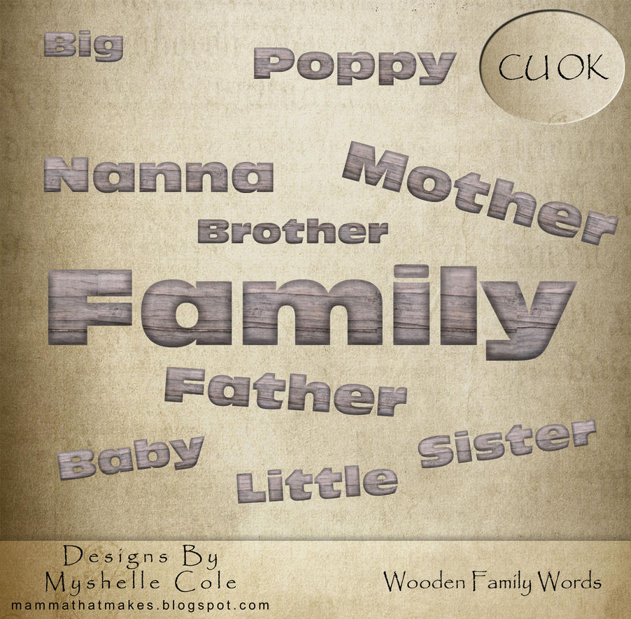 How to scrapbook words - To Download Words Click Here