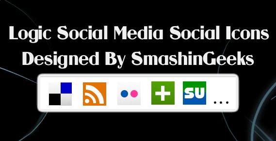 Logic Soical Media Icons Set by smashingeeks