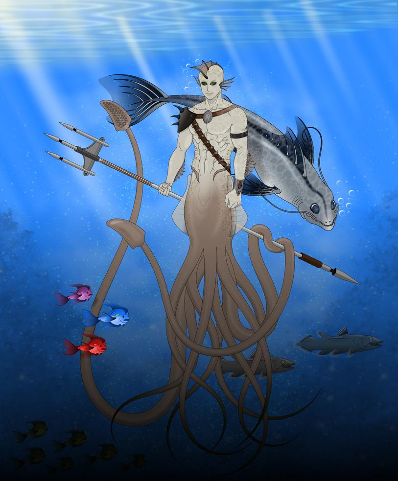 Hombre calamar by deiby-ybied