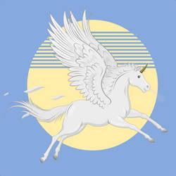 Pegaso - caballo alado by deiby-ybied