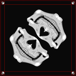 Skull Bandana by deiby-ybied