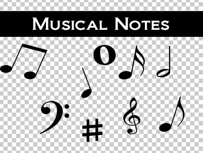 Musical Notes Png by mattbenfly75