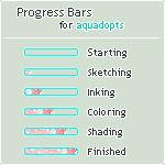 Progress Bars for aquadopts