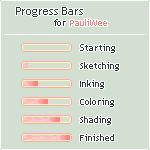 Progress Bars for PauliWee by Oceannist