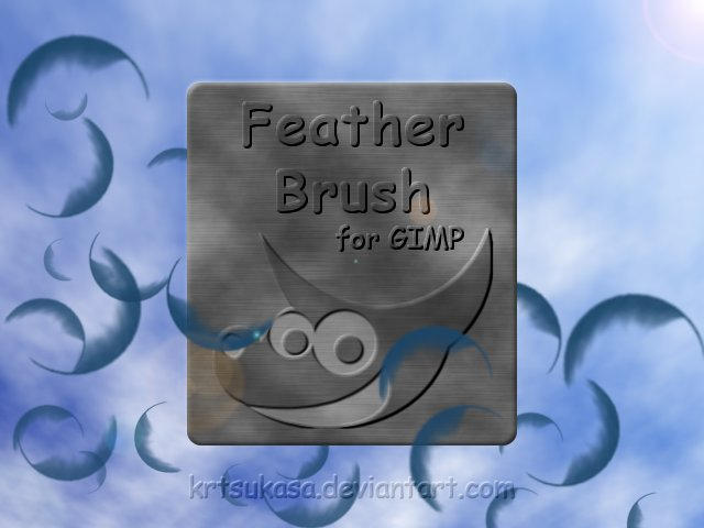 gimp cracked glass brush