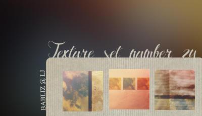 Texture set 24 by babliz
