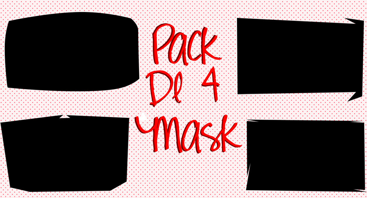 Pack Mask De 4 by freeyaonoexorcist