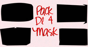 Pack Mask De 4