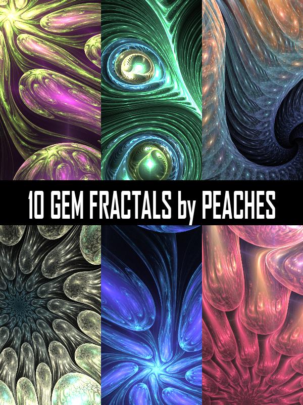 Gem Fractal Pack by JU5TPeachy