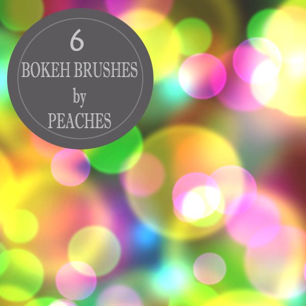 Bokeh Brushes 1 by JU5TPeachy