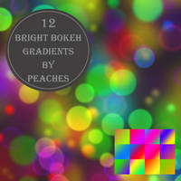 Bright Bokeh Gradients by JU5TPeachy