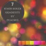 Warm Bokeh Gradients