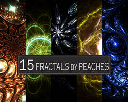 Fractal Gems and Flowers by JU5TPeachy