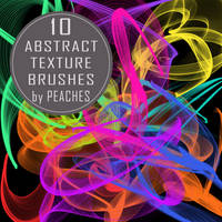Abstract Texture Brushes by JU5TPeachy