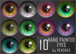 Hand Painted Eyes 2
