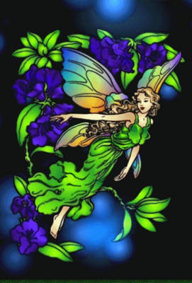 Flower fairy Animated