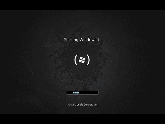 Windows 7 Startup by yanomami