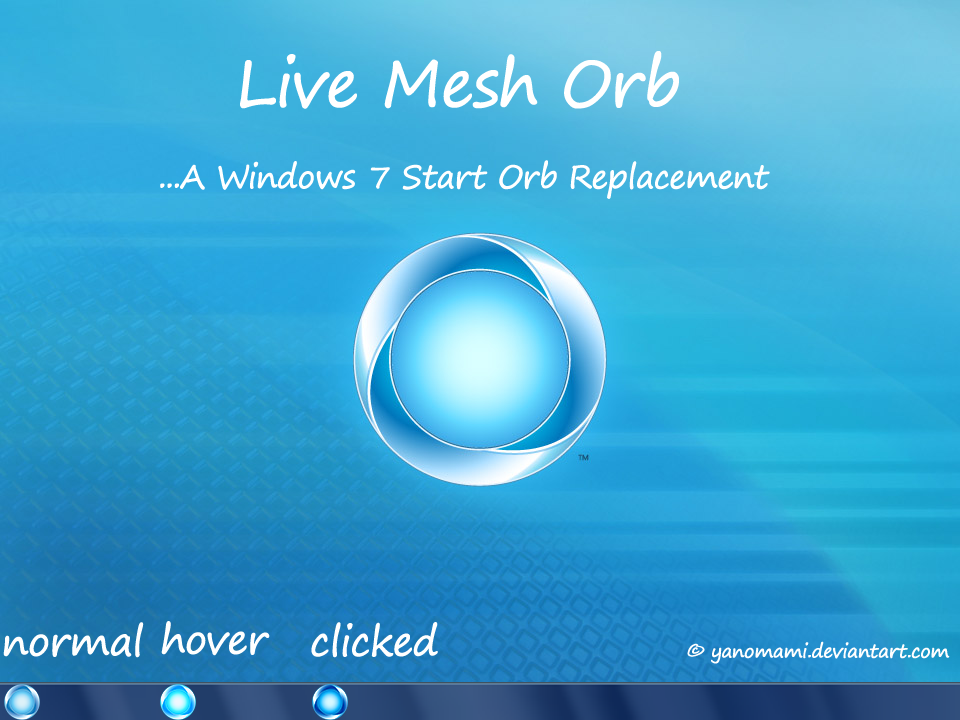 Live mesh start orb for windows 7