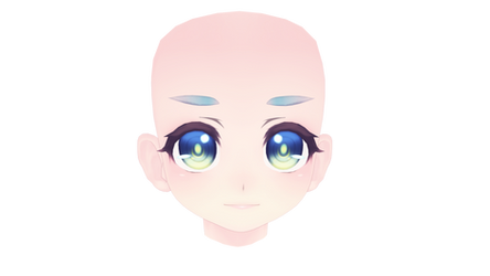 MMD TDA another loli face for download (LAZY)