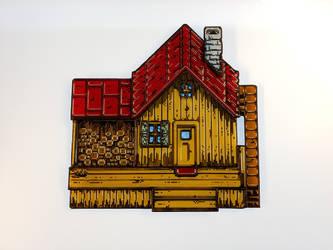 Stardew house FInished Gif by DarkeVitrum