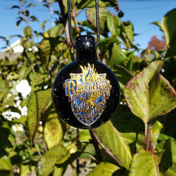 Ravenclaw Layered Dichro Glass Pendant