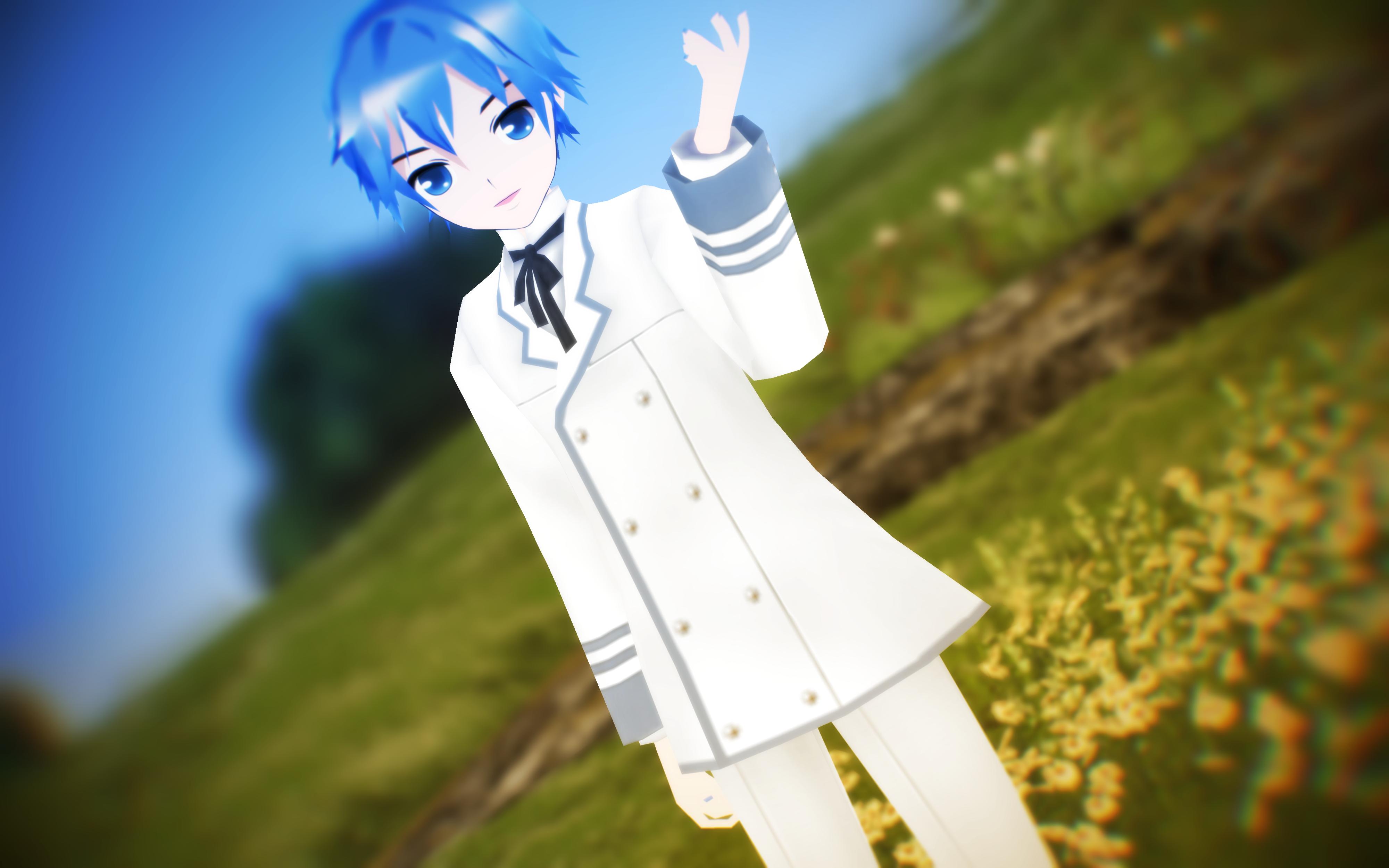 LAT White Blazer Kaito DOWNLOAD by MMDLADDyBoi003