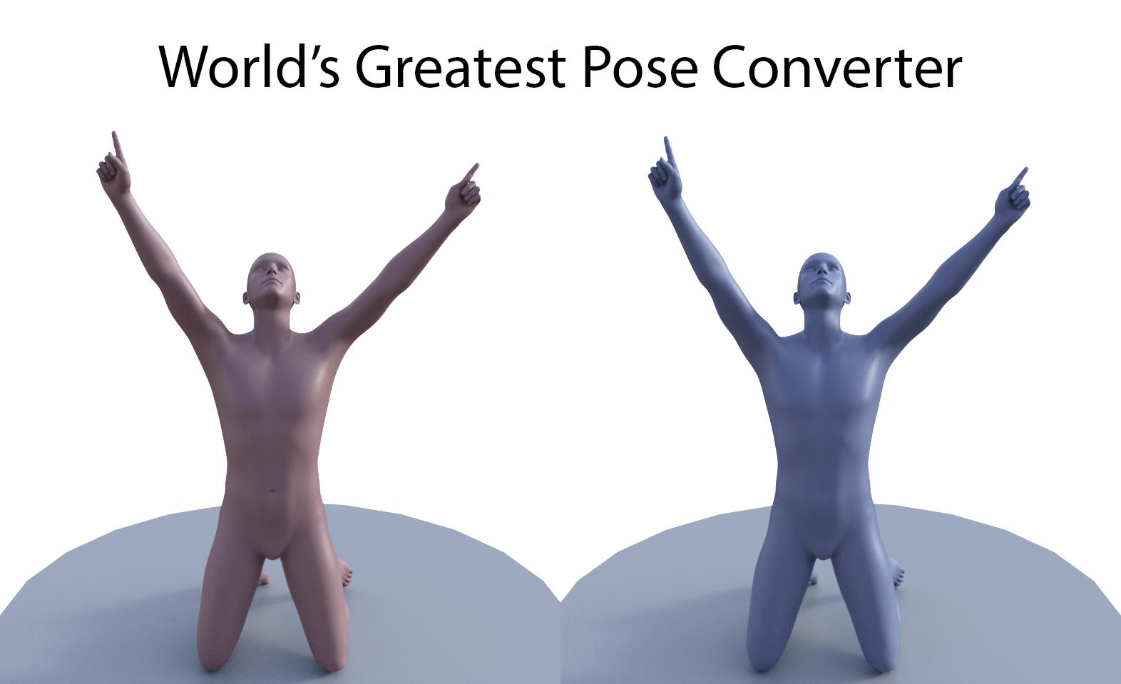 G3M to G8M World's Greatest Pose Converter