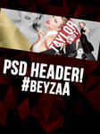 Taylor Swift PSD Header