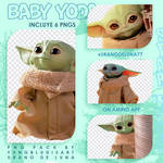 Baby Yoda Png Pack #1
