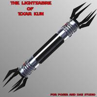 Exar Kun's Lightsabre by mattymanx