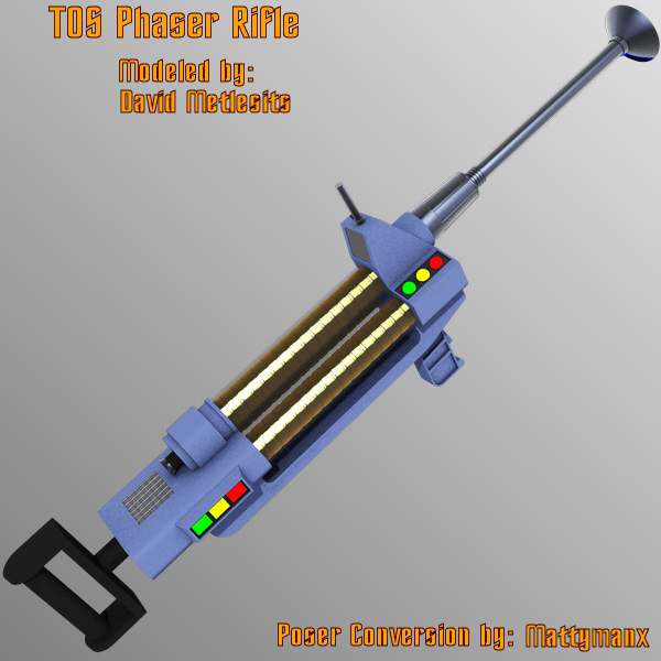 TOS Phaser Rifle