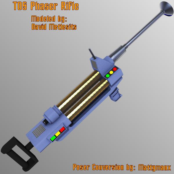 TOS Phaser Rifle by mattymanx