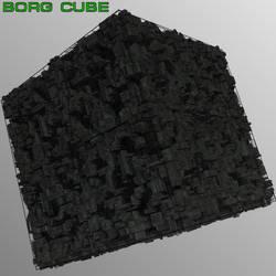 BORG CUBE by mattymanx