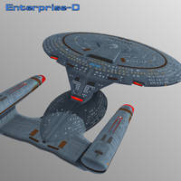 Enterprise-D by mattymanx